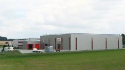 Erweiterung und Neubau einer Montage- und Lagerhalle in Ehingen-Stetten