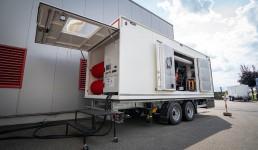 Mobiler AVS Stromerzeuger nach der neuen Abgasstufe V