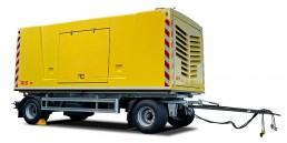 AVS Stromerzeuger auf 2-Achs Fahrgestell