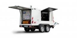 Fahrbarer Stromerzeuger 130 kVA